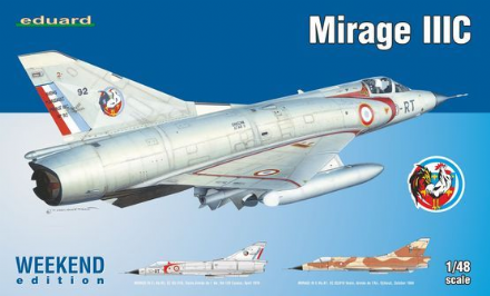 Eduard 1/48 Mirage IIIC Weekend Edition